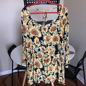 Sunflower dress